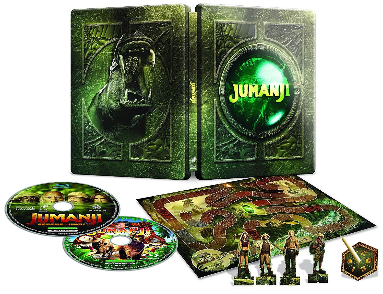 Spécialisé dans les steelbooks de collection (Le Parrain, Jumanji...) vous retrouverez vos films et séries préférés !